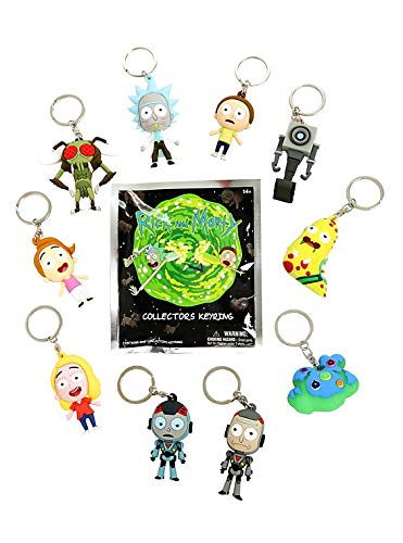 Rigid Wall Hanging Poster Art Sauce Szechuan Image Pack R/&Mpop Funko Dipping 3D Mini Figure Rick /& Morty Character Pack Pocket Series Hanger Key Ring Bundled with
