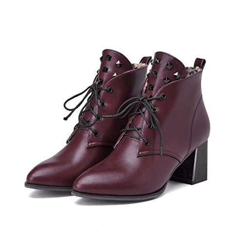 RFF-Women's Shoes Martin boots in winter and winter gules 3PRxQVw