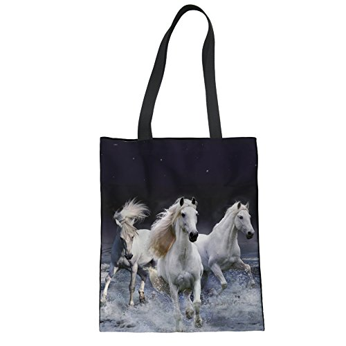 A Horse Borsa Mano Donna Showudesigns Bianco B0015z22 Unica White Taglia xn4ZqxHw