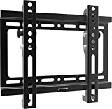 GForce Tilting TV Wall Mount for Most 17' - 42' Inch LED, LCD and Plasma TVs - VESA Compatible - 25Kg/55LBS Weight Capacity - Black
