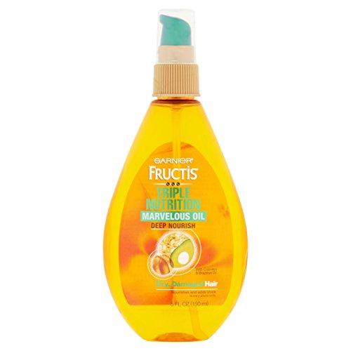 Garnier Skin and Hair Care Fructis Marvelous Oil Deep Nourish 5 Action Hair Elixir, 5 Fluid Ounce by Garnier