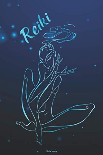 Reiki Notebook: Reiki Master Journal Chakra Spiritual Energy Composition Book Yoga Meditation Qi log book Birthday gift