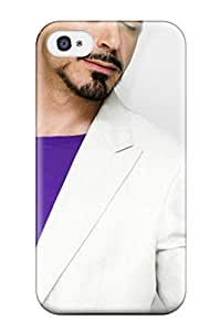 High-quality Durability Case For Iphone 4/4s(10088 Robert Downey Jr Male Celebrity)
