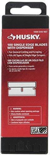0.009 in. Single Edge Blades Dispenser (100-Pack)