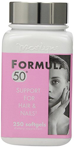 Formula 50 Support for Hair & Nails, 250 Softgels (For Hair Formula)