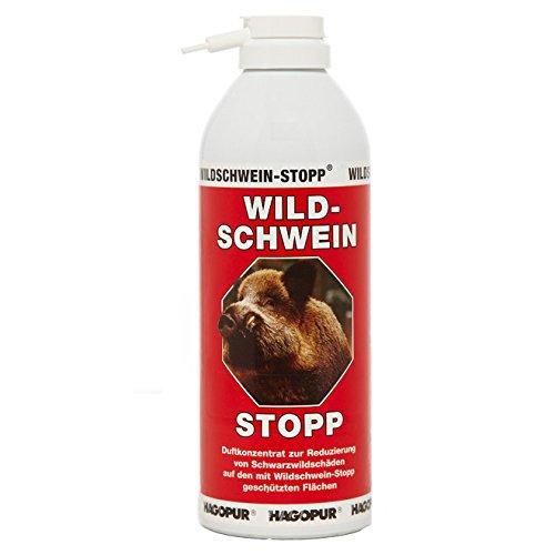 Repelente para jabalíes Stopp rojo - Repelente de 400 ml para jabalíes Hagopur