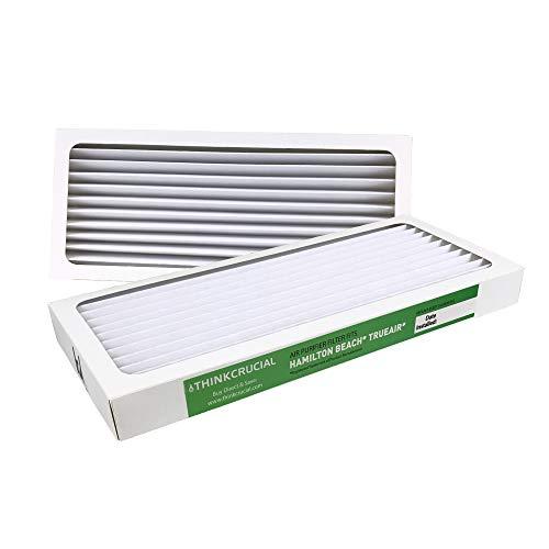 2 Crucial Air Replacement Air Purifier Filter Fit Hamilton Beach True Air 04383 Glow 04385 990051000