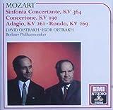 Mozart: Sinfonia Concertante, KV 364 in E Flat Major, Concertone KV 190 in C Major, Adagio KV 261, Rondo KV 269