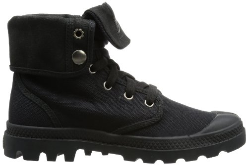 Black Stringate Palladium Basse Scarpe Donna Baggy Black Nero O474nR