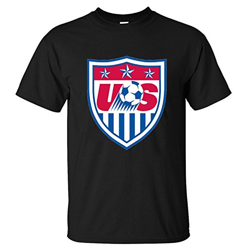 HumP Men's U.S. Womens National Soccer Team Cotton T Shirt black XXL (Us Womens National Team)