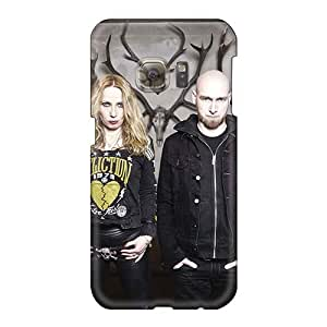 Bumper Hard Cell-phone Cases For Samsung Galaxy S6 (KIR18297RBIh) Unique Design High Resolution Mayhem Band Pictures