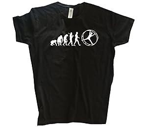 Standard Edition Rhönrad Geräteturnen Leichtathletik Evolution Girlie-Shirt...