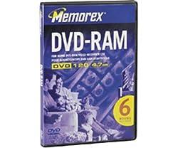 Memorex 32025801 Dvd120 Dvdram