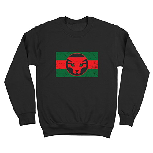 Funny Threads Outlet Wakanda Flag Mens Sweatshirt Medium - Outlet Apparel Athletic