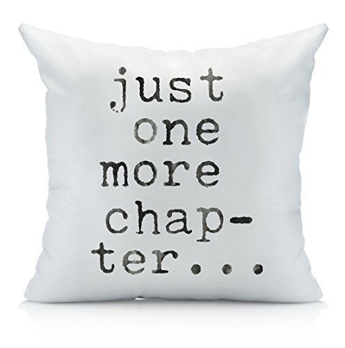 Oh-Susannah-Just-One-More-Chapter-Throw-Pillow-Cover-Library-Book-Lovers-Gifts-Bibliophile-1-18x18-inch-Pillowcase
