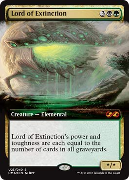 Magic: The Gathering - Lord of Extinction - Foil - Ultimate Masters Box Toppers - Mythic Rare