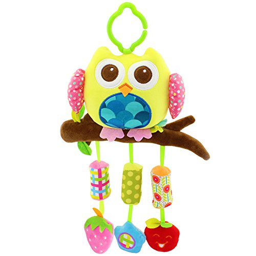 SKK Baby Clip on Hanging Activity Toy with Rattle Wind Chims by SKK BABY