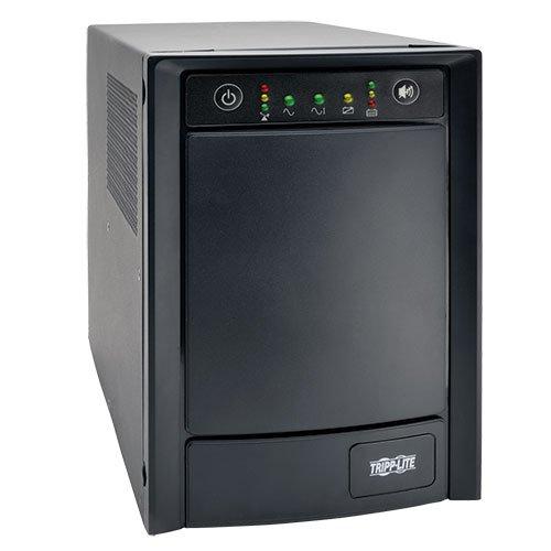 (Tripp Lite 1000VA Sine Wave UPS Battery Backup, 650W AVR Line-Interactive, Tower, USB, DB9 (SMC1000T))