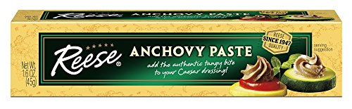 Reese Anchovy Paste, 1.6-Ounce, 10-Count Boxes