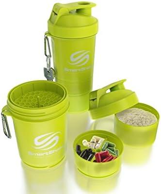 Smart Shake Coctelera, 1er Pack (1 x 600 ml), Neon de amarillo: Amazon.es: Salud y cuidado personal