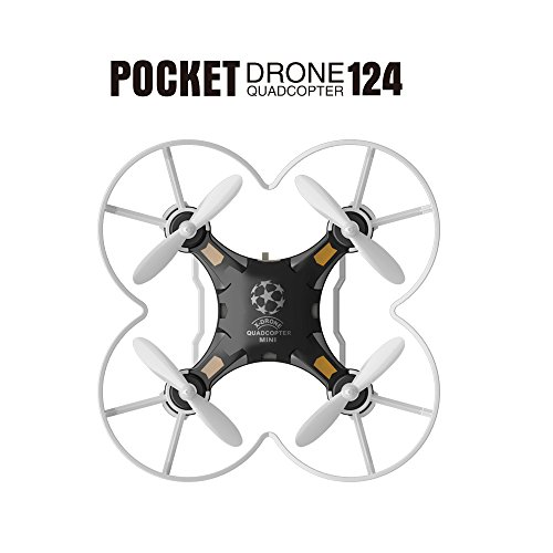Neecooler FQ777 124 Micro Pocket Drone 4CH 6Axis - Rc Helicopter From Amazon