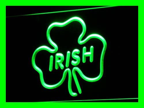 Irish Pub Shamrock Bar Club LED Sign Neon Light Sign Display i599-g(c) - Club Pub Sign