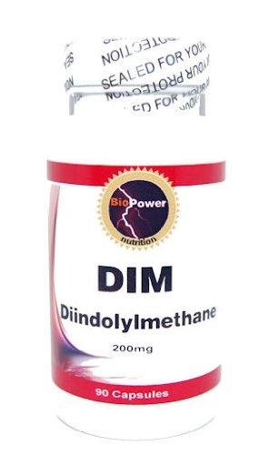 DIM Diindolylmethane 200mg – 90 Capsules – BioPower Nutrition For Sale