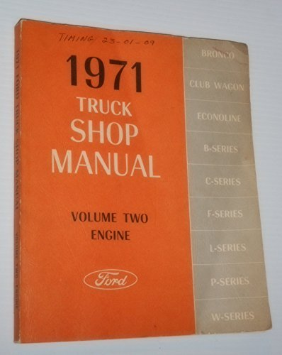V8 Camshaft (Ford 1971 Car Shop Manual Volume Two Engine)