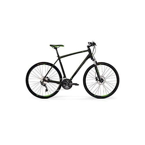 センチュリオン(CENTURION) クロスバイク CROSS LINE COMP 50 44 BK/GRN 18 44cm B07DKV137P