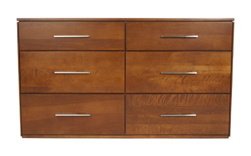 South Shore Fundy Tide 4 Drawer Chest Royal Cherry