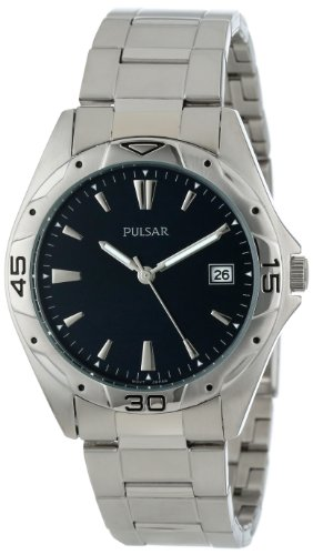 Pulsar Men's PXH455 Sport Silver-Tone Stainless Steel Watch by Pulsar