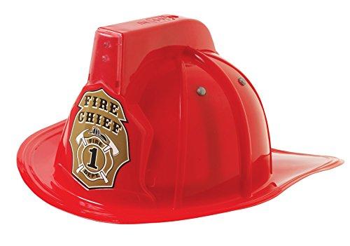 Mizzuco Imaginary Play - Fireman Helmet w Siren & LED Light B/O ()