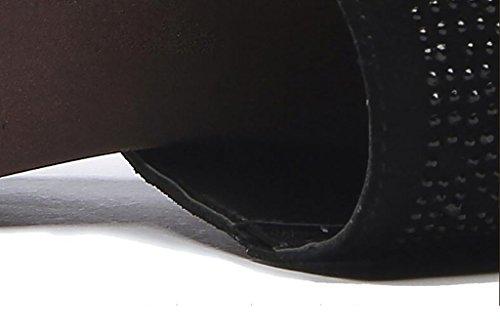 Di colore Estate Dimensioni Delle Moda E Sandali Pantofole Donne Flat Sandali Pistone Modo Delle Con Un Sandali Ciabatte Donne Pista Una Di 38 aaRrqxUw