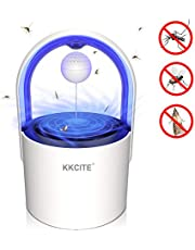 KKCITE Original Indoor Insect Trap, Electric Mosquito Insect Killer/mosquito trap - UV LED, Suction Fan, Sticky Glue Boards Trap Even The Tiniest Flying Bugs - No Zapper - Child Safe, Non-Toxic