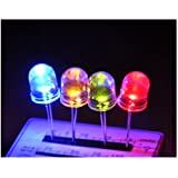 Gikfun 4 Color 10mm Clear LED Light Lamp For Arduino (Pack of 20pcs) EK1045_