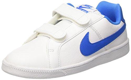 Nike Court Royale Psv, Zapatillas Niños Blanco (White/photo Blue)