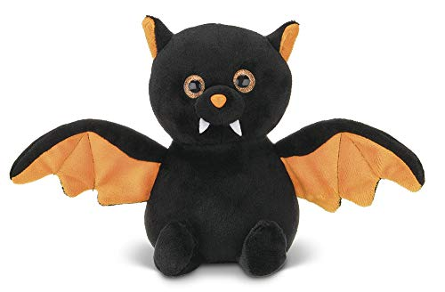 Halloween Stuffed Animals Bulk (Bearington Echo Plush Stuffed Animal Halloween Black Bat, 7.5)