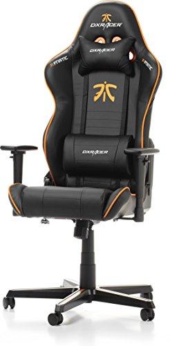 DX Racer Sedile Gaming per PC Arancione e nero