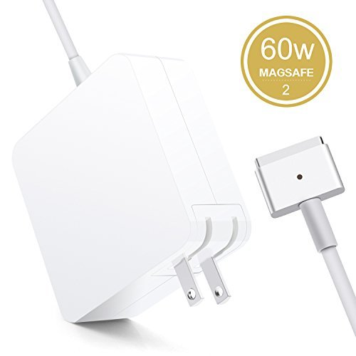 Review Of Halcent Macbook Pro Charger, 60W Macbook Magsafe 2 charger with T-Tip, 60w magsafe charger...