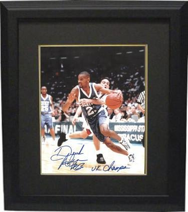 Derek Anderson Signed Photograph - Kentucky Wildcats 8x10 Custom Framed #23 UK Champs - Autographed College Photos -