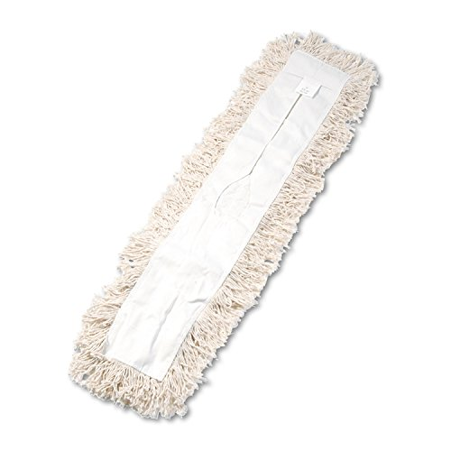 (O'Dell Industrial Dust Mop Head, Hygrade Cotton, 36w X 5d, White, New )