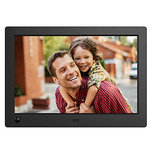 NIX Advance Digital Photo Frame 8 inch X08G Widescreen. Electronic Photo Frame USB SD/SDHC. Digital Picture Frame with Motion Sensor. Remote Control Included -