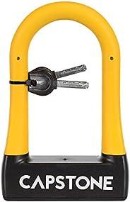 Capstone 67225 Rubberized U-Lock with Key, Small