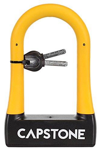 Capstone Rubberized U-Lock With Key, Small by Capstone