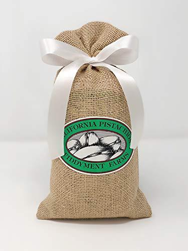 Fiddyment Farms 1 Lb Lightly Salted Pistachios in Beige Burlap Bag ()
