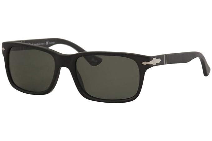 c3321121fccec Persol Men s PO3048S - Polarized Black Antique Grey Polarized ...
