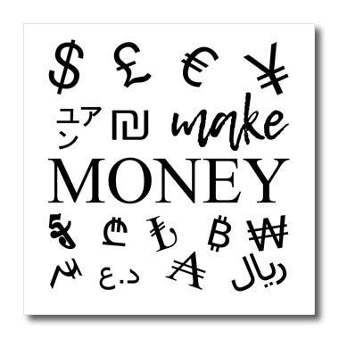 Amazon 3drose Alexis Design Typography Money Symbols