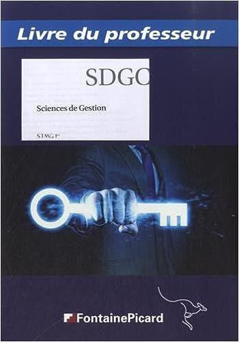Livres gratuits Sciences de gestion 1re STMG : Livre du professeur pdf, epub ebook