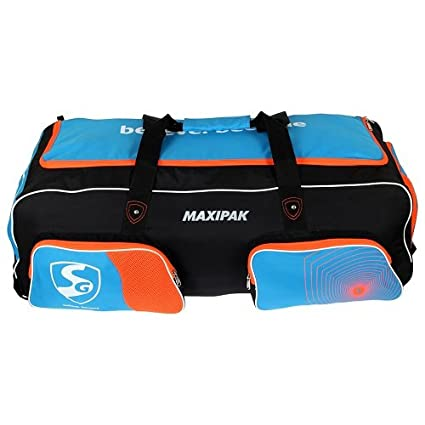 37f58042d2a0 Buy SG Maxipak Kit Bag with Wheels Online at Low Prices in India - Amazon.in