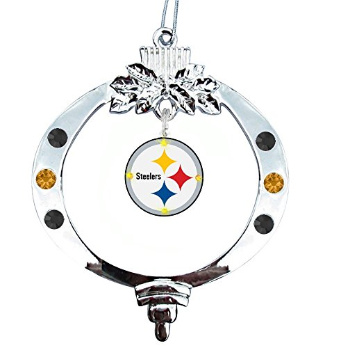 Pittsburgh Steelers Flashing Light up Christmas Ornament from Final Touch Gifts